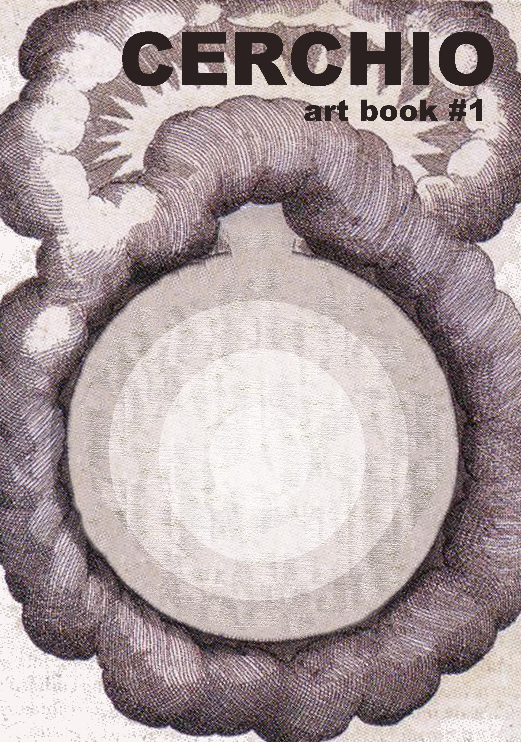 1 cerchio art book copertina