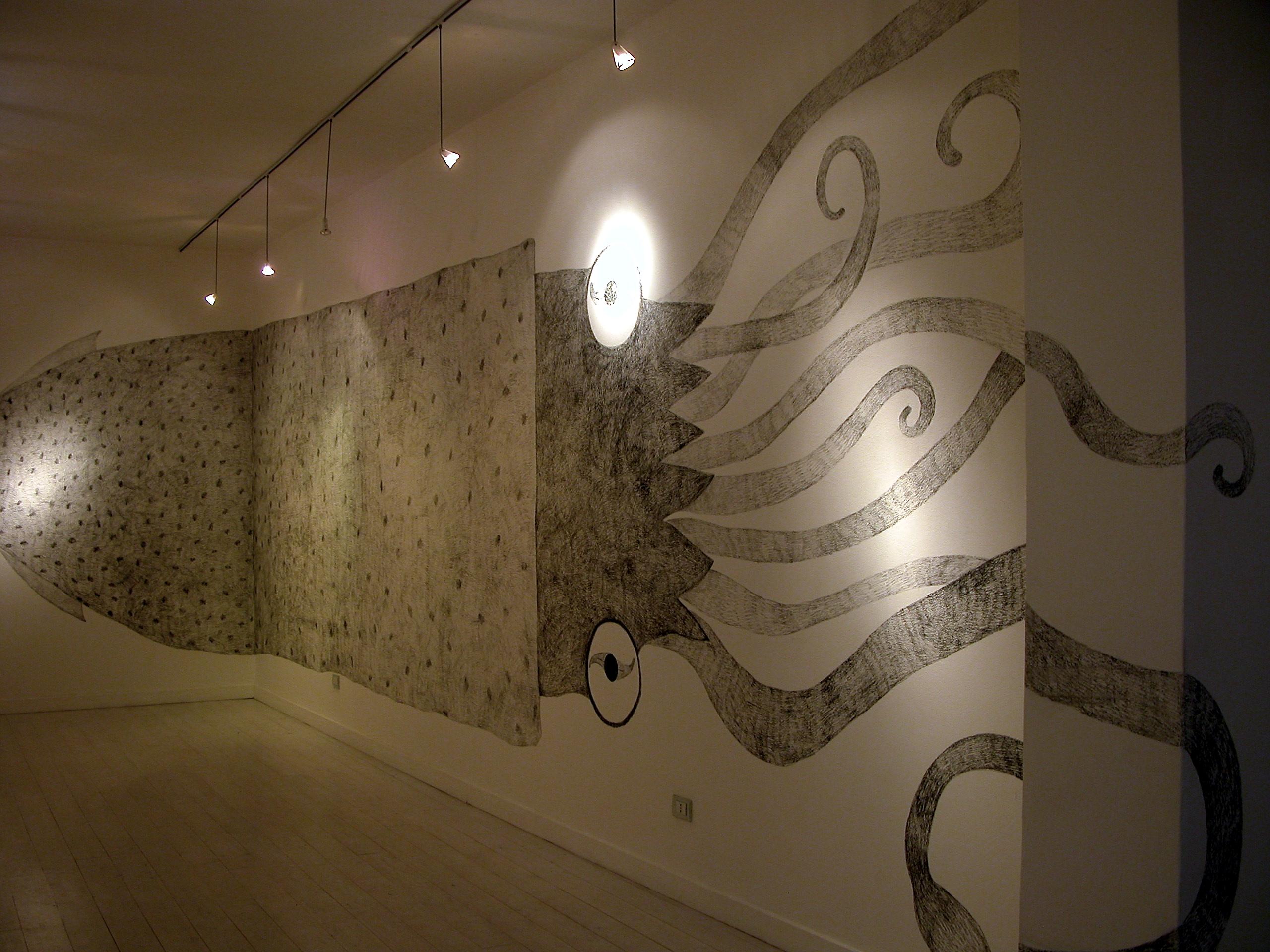 Josephine Sassu - Serie Monumenti Provvisori, 2007