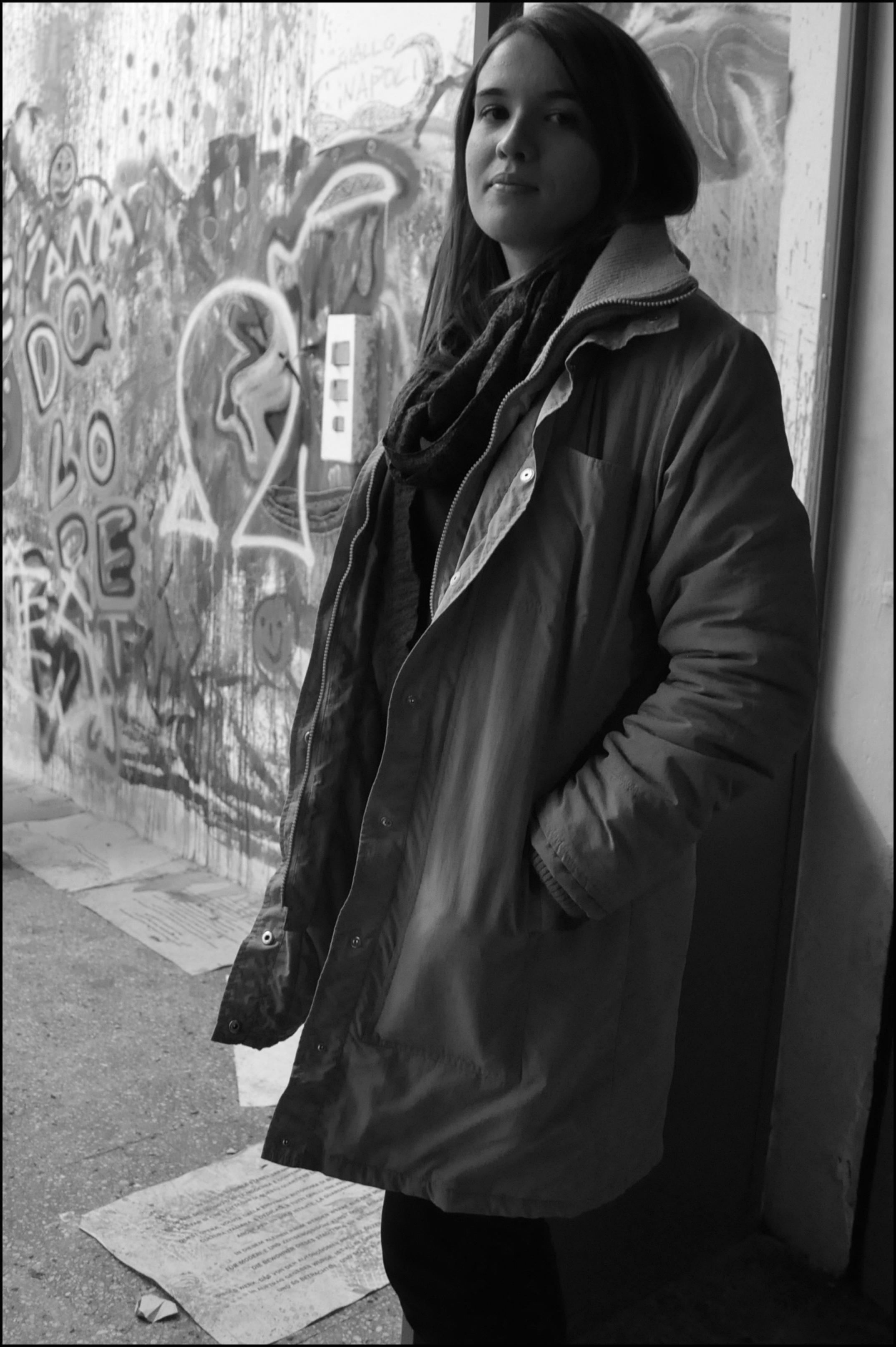 lunedì 9 dicembre 2013, Eleonora Di Marino, al termine del progetto _Aperto_, Wilson Project Space, Via Marsiglia 35_A, Sassari