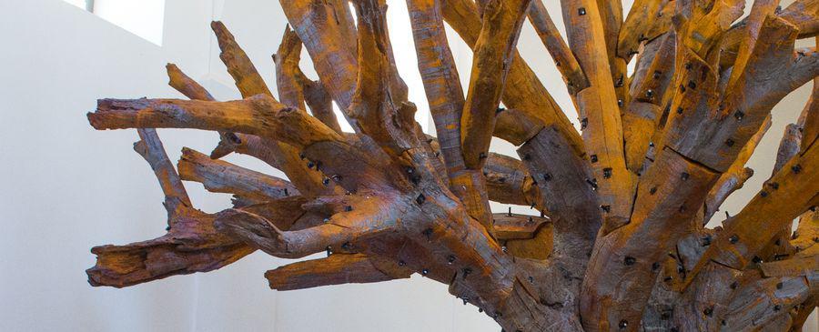 Figura 6 - Ai Weiwei - Iron Tree, particolare