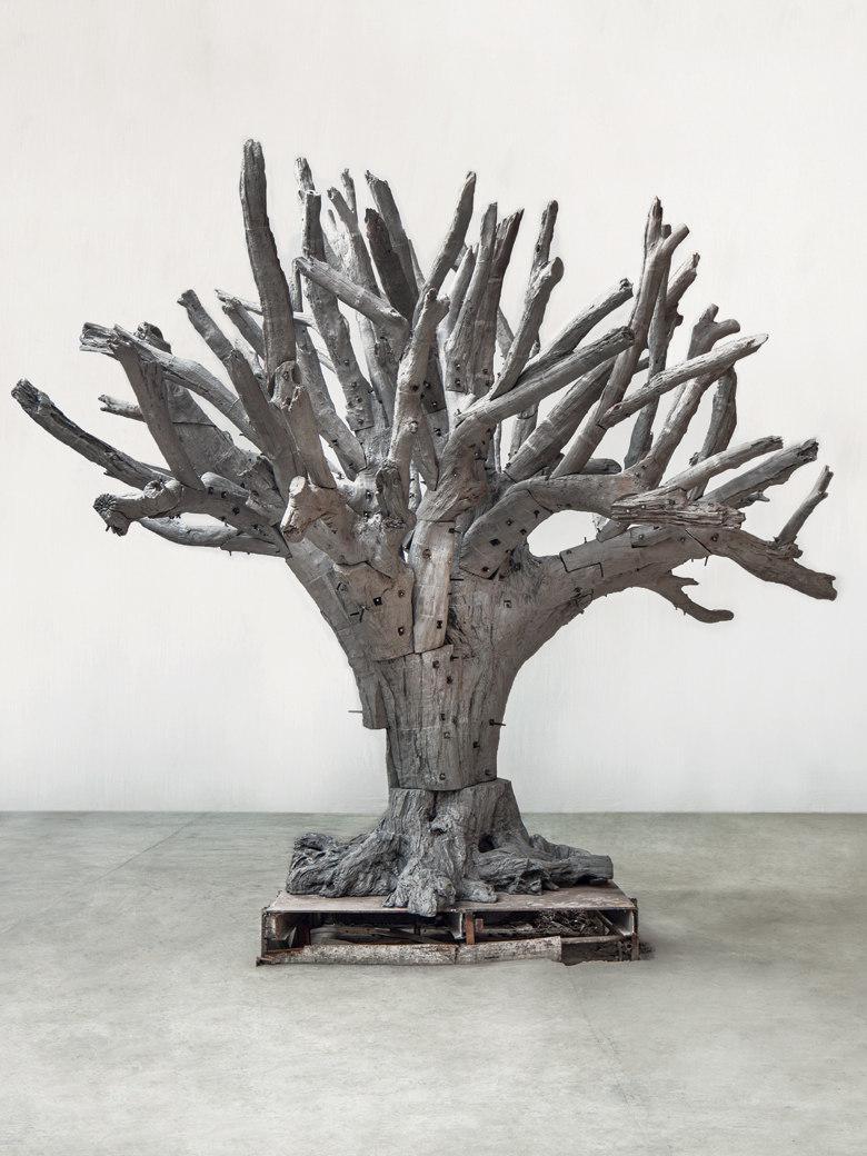 Figura 7  - Ai Weiwei - Iron Tree