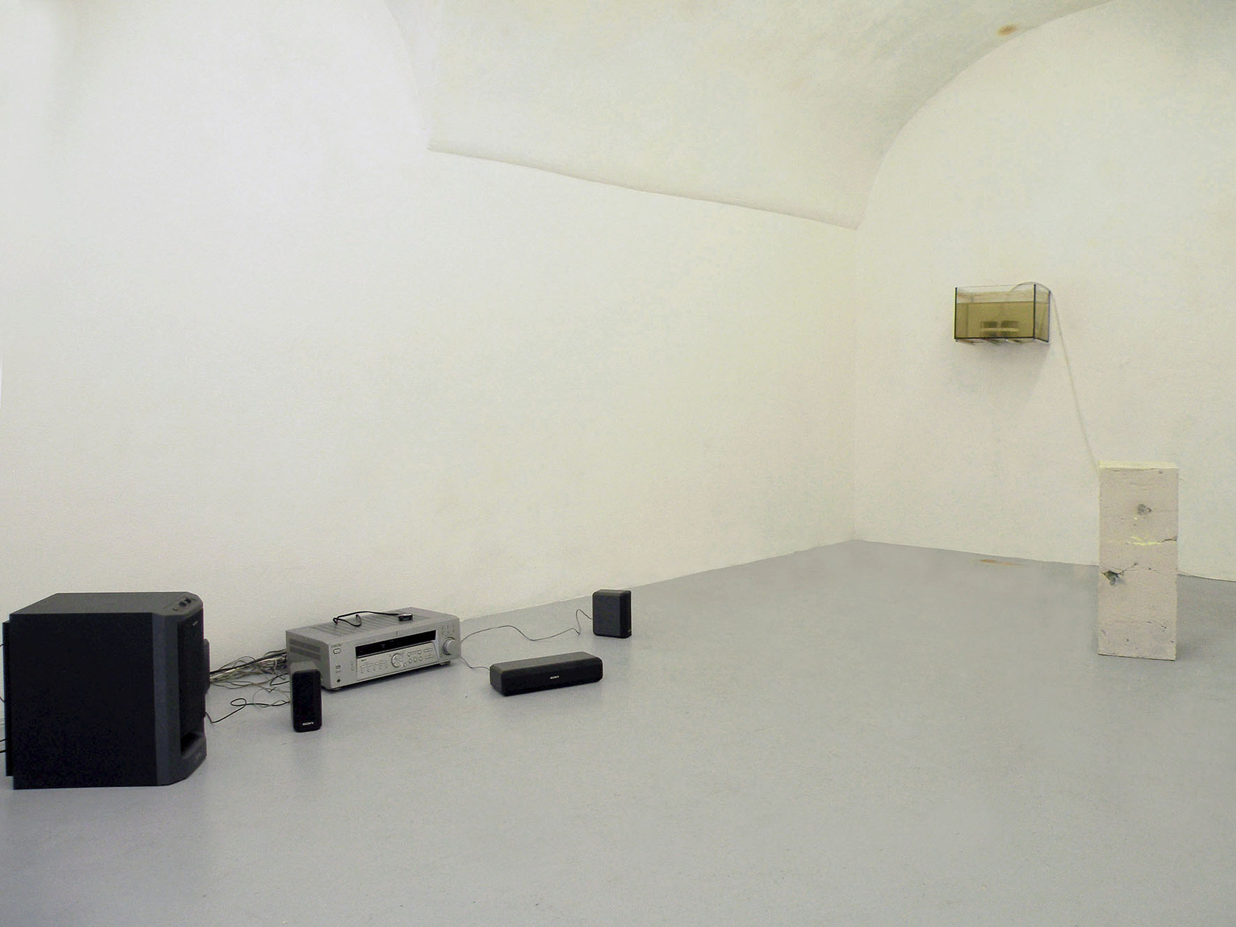 Enrico Boccioletti, Alessandro Vizzini, Elia     Gobbi,Installation view, 2015