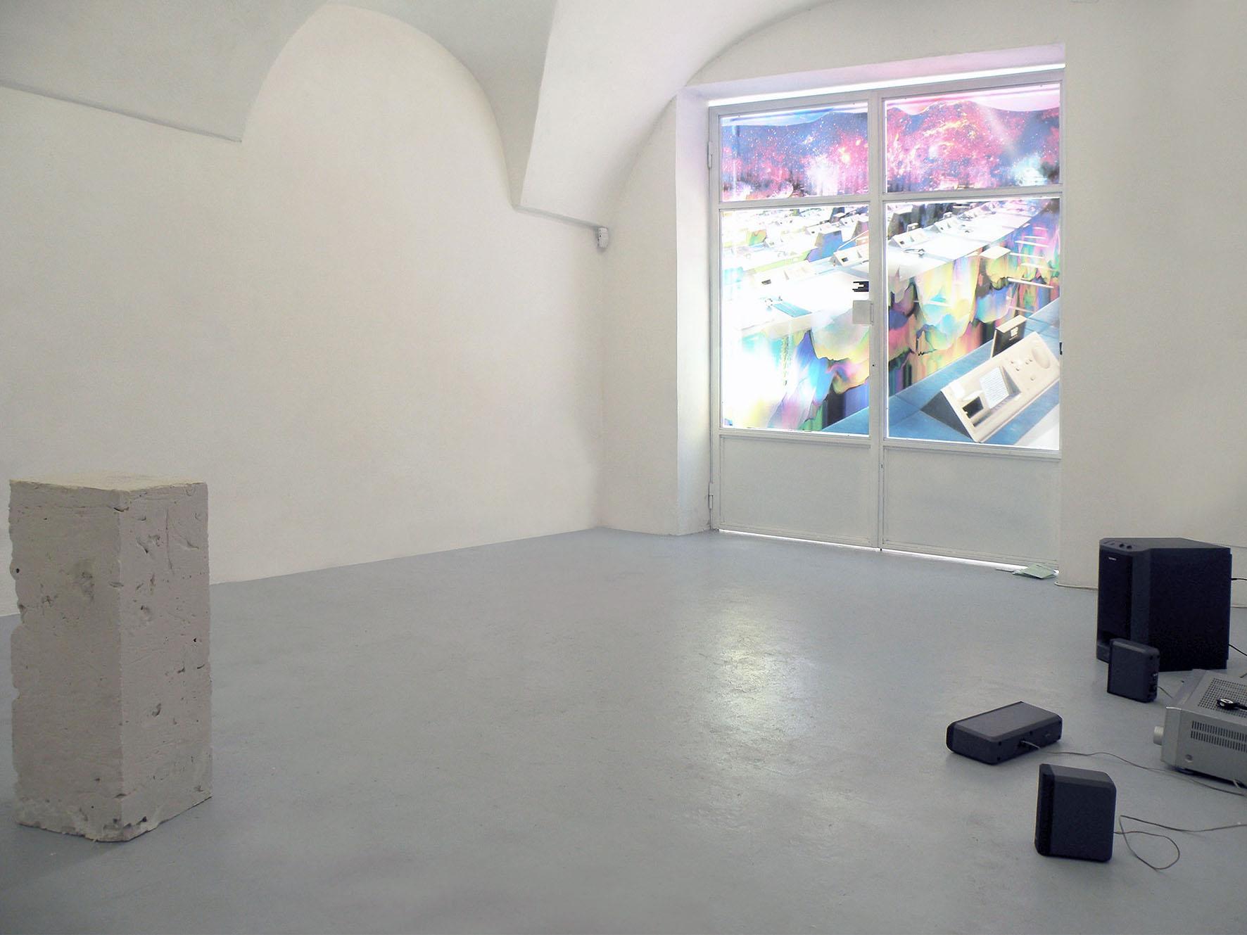 m Alessandro Vizzini e Enrico Boccioletti, Installation     view at Wilson Project Space, 2015