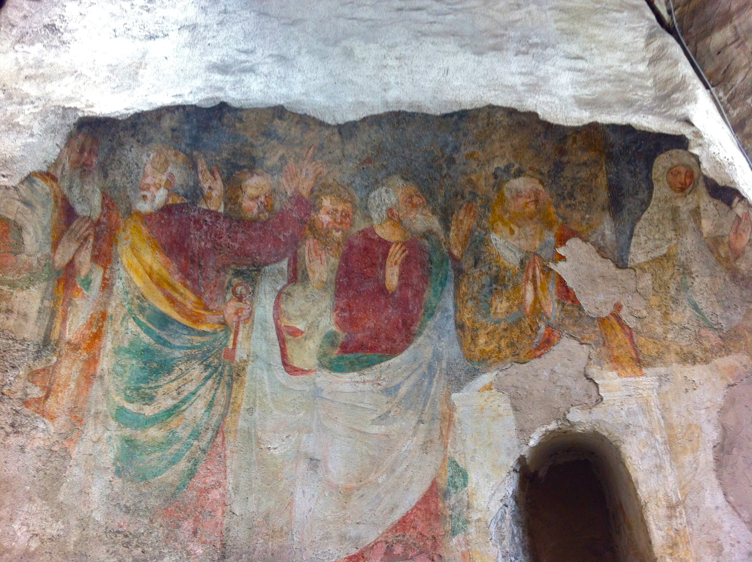 10 - affresco romanico