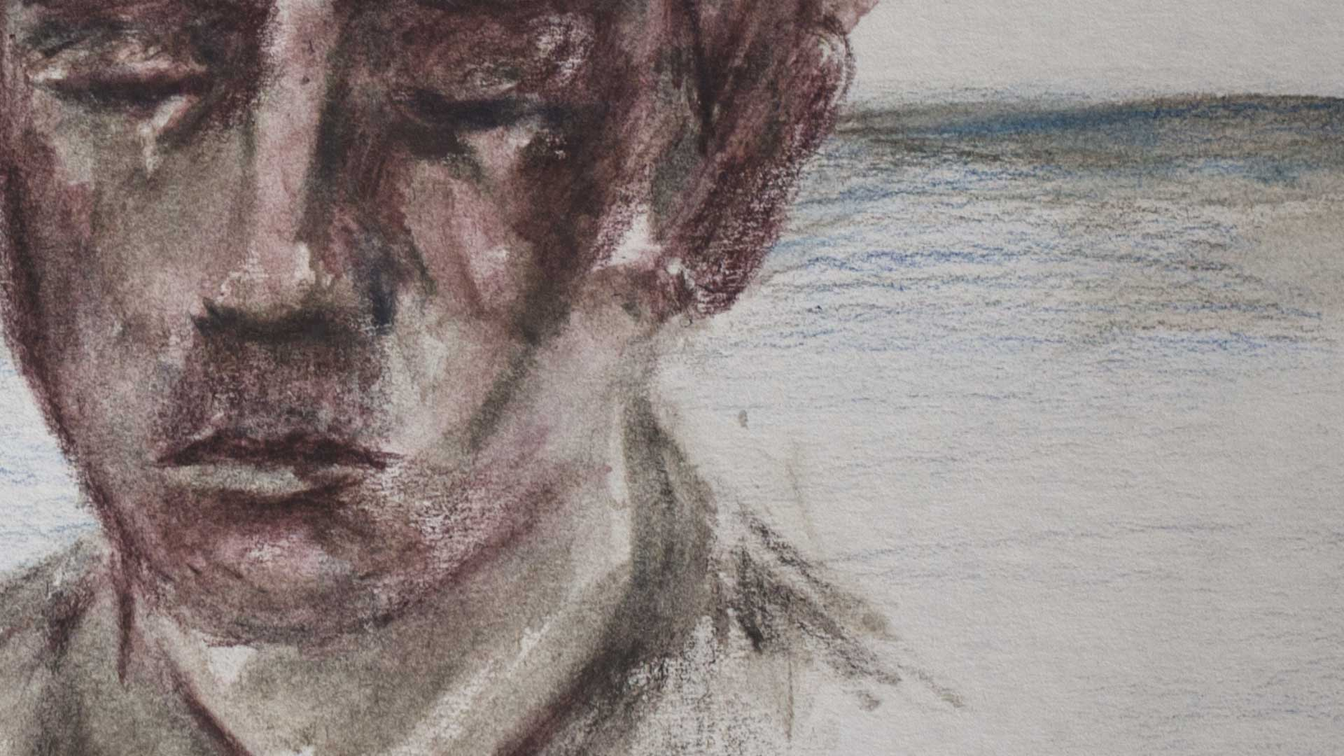 I. Pucci, 50 imaginary portraits of a young man in one minute of his life, animation, 2013