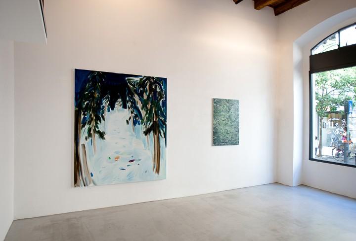 Into the Woods - vista della mostra presso Villa Contemporanea, Monza
