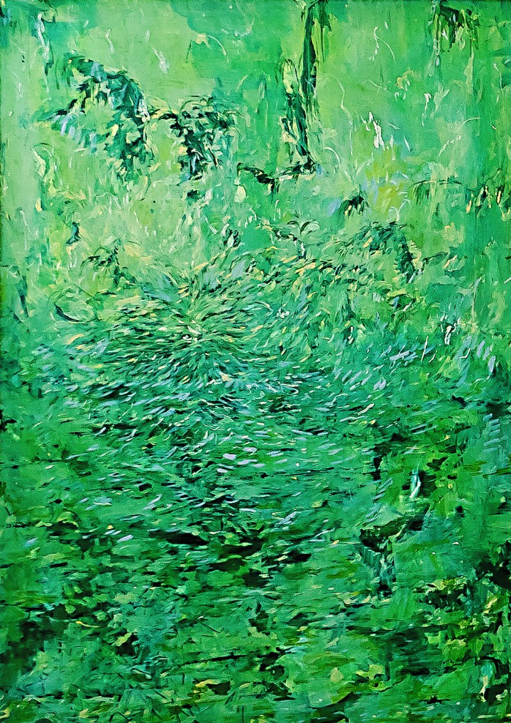 Antonio Bardino Senza titolo, 2016 Olio su tela, cm 100 x 70