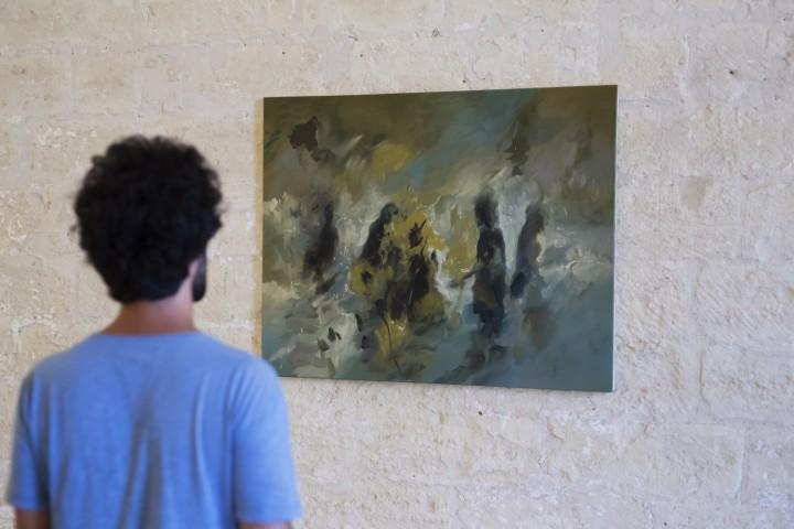 Opera di Luigi Massari. Analoghìa, 2016, Castello Carlo V Lecce (foto di Adriano Nicoletti e  Samuele Vincenti)