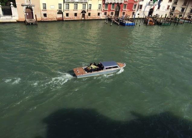 Funerale in Canal Grande, 29/09/2016, pre-performance Suicide a Venise, foto Josep-Maria Martin