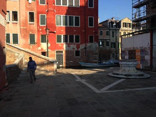 23/09/2016, Location del set di Morte a Venezia e veduta del ponte Salita Carminati 2267