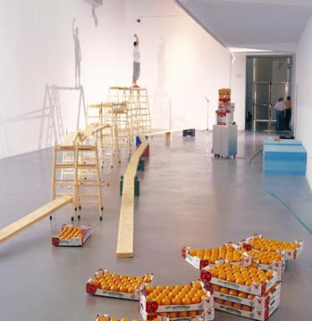 Espai del Castel, Ceramic Juice, 2001, courtesy by the artists, curated by Marti Peran