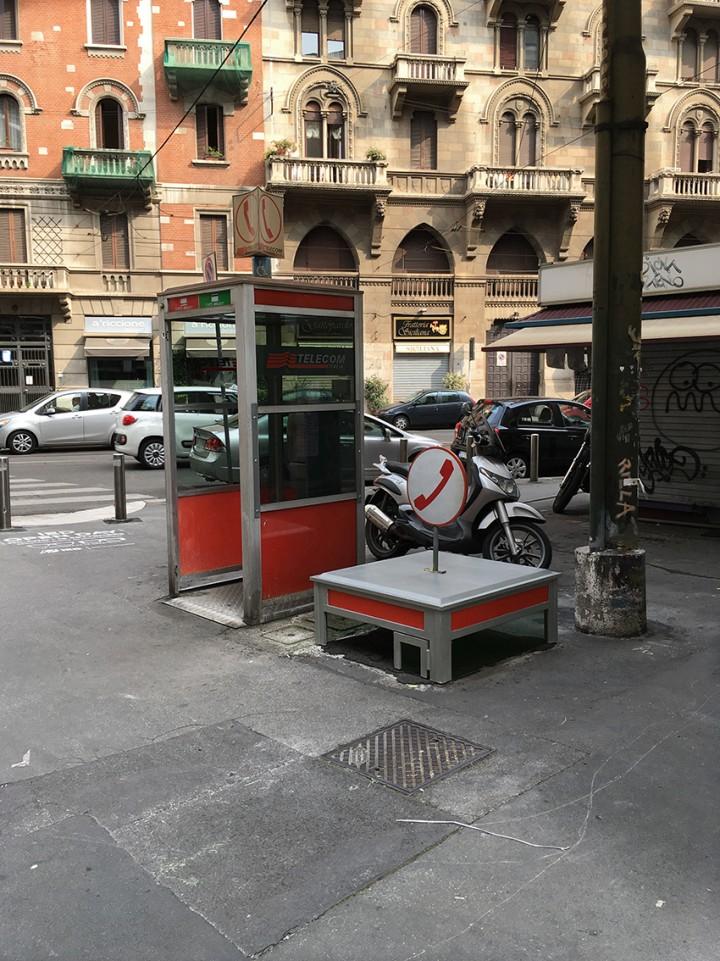 RIP Cabina di via Procaccini, 1989 - 2014(c.)