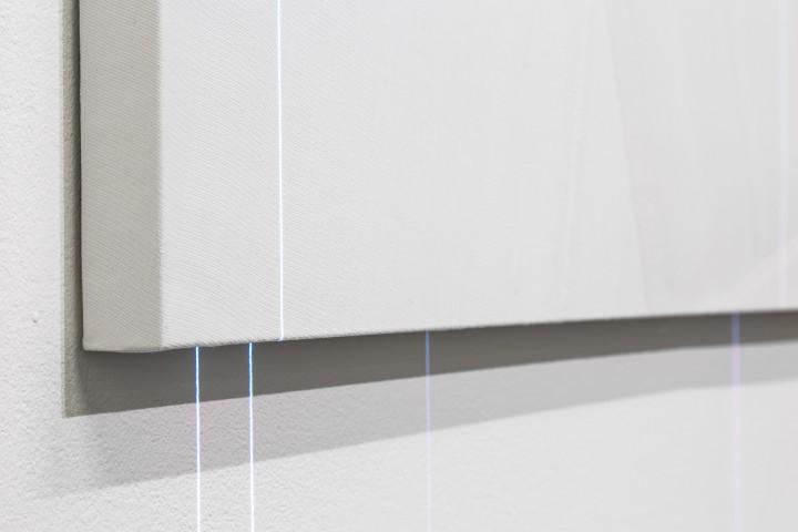 Minus.log Cure 02, 2016, installazione audiovisiva, dettaglio, Galleria Bianconi (phTiziano Doria)