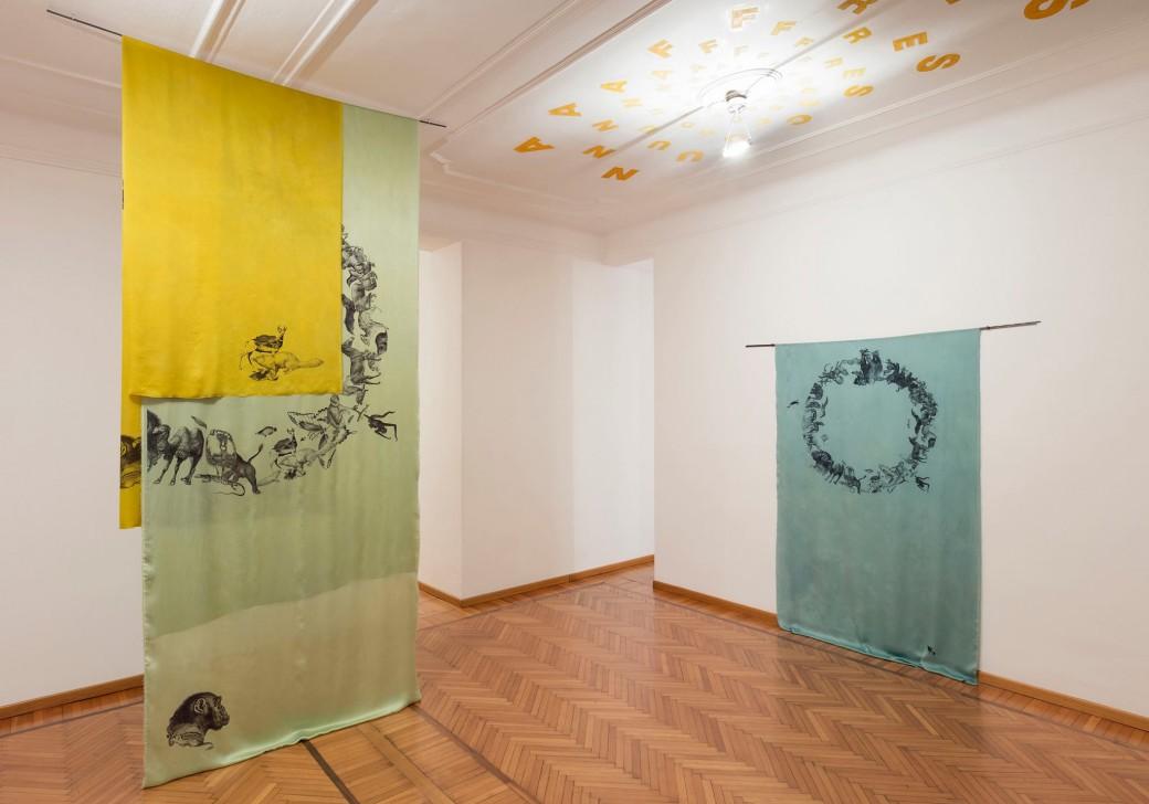 Claudia Losi - Asking Shelter, Galleria Monica De Cardenas (photo Andrea Rossetti)