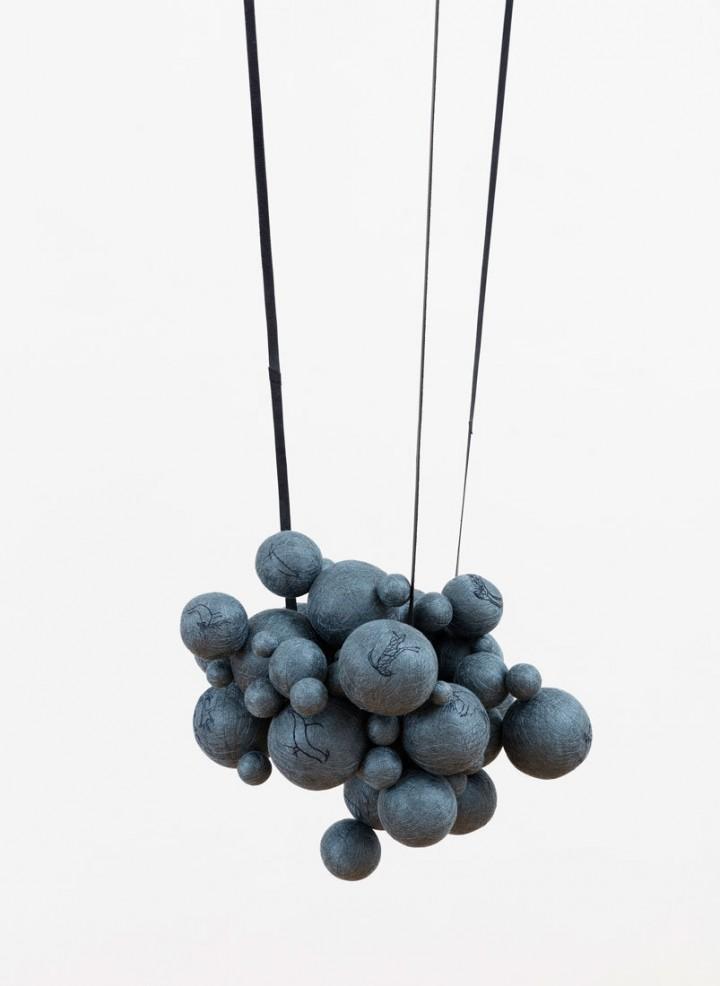 Claudia Losi, Untitled (struttura globulare), 2017