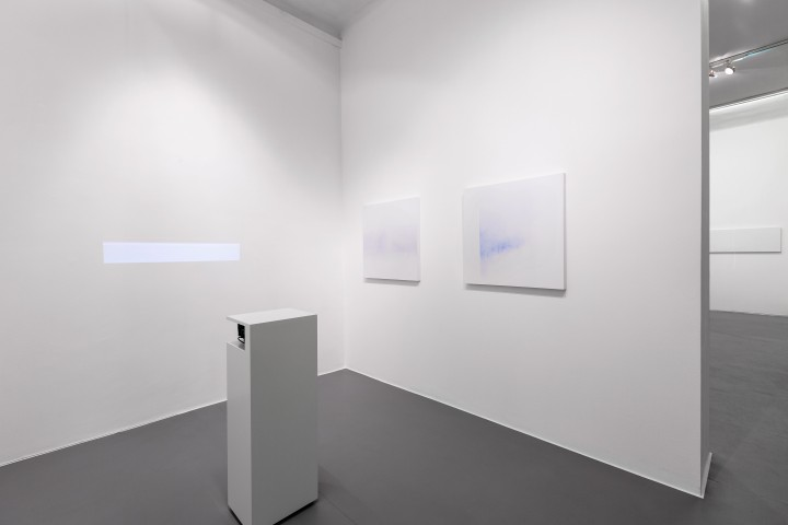 Minus.log - Untitled (line), Installation view, Galleria Bianconi (ph Tizioano Doria)