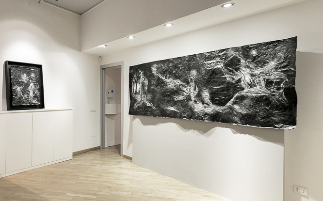 SUB UMBRA, installation view