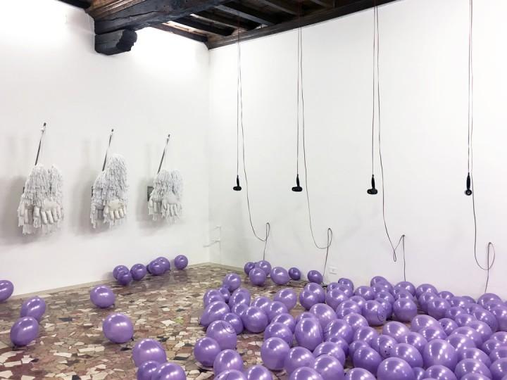 SPERO CHE QUESTO TRASLOCO SIA L'ULTIMO - installation view, 2017 (photo credits - Marco Fava)