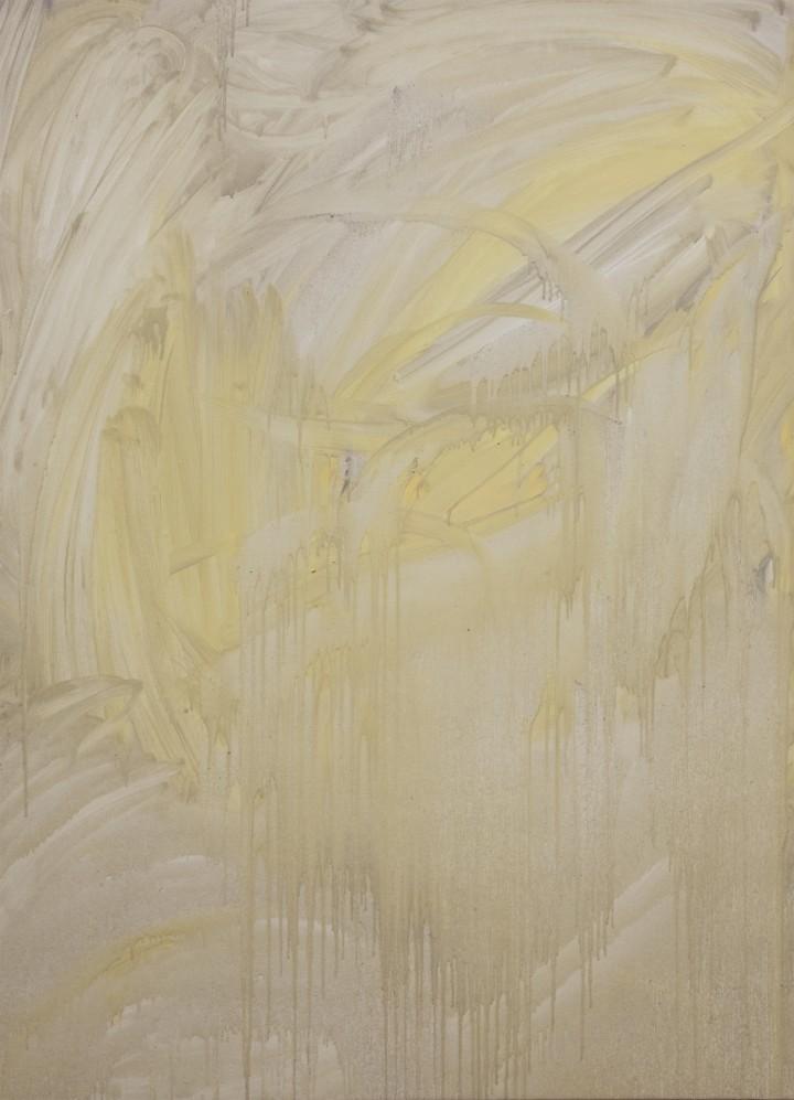 Lorenzo Tamai, L'acqua (The water), 2016, olio su tela, 110x80 cm – ph. Gianmarco Porru
