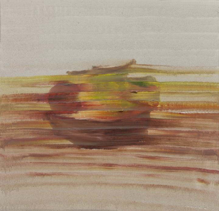 Lorenzo Tamai, Natura morta (Still life), 2013, olio su tela, 62x67 cm – ph. Gianmarco Porru