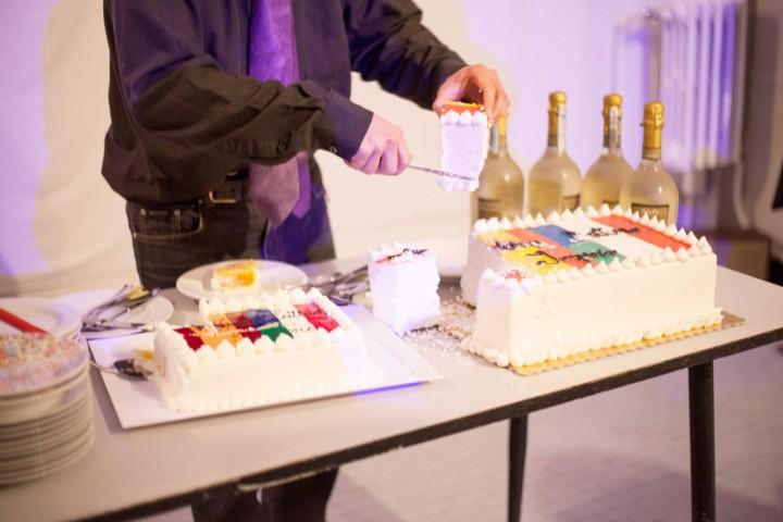 Performance Biscione, Forza Impero Latino, Taglio torte, foto di Giacomo Pederiva