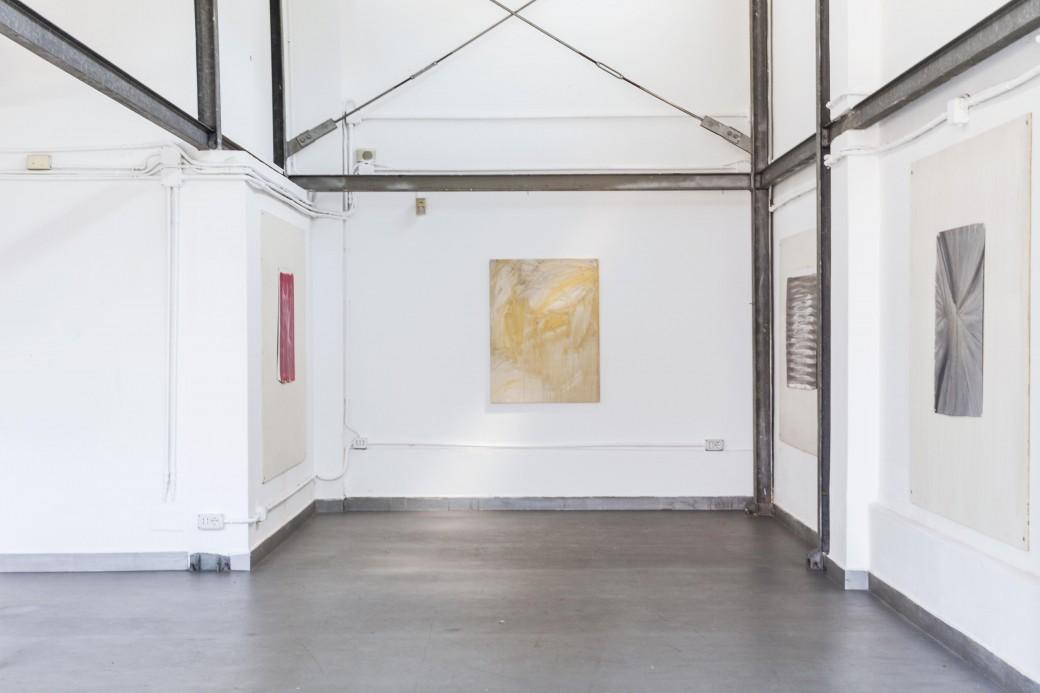 Lorenzo Tamai -  Attenzione alle mani, installation view - ph. Gianmarco Porru