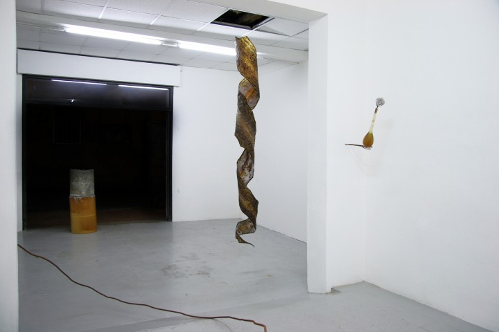 Aufblühen, 2017, veduta della mostra. Foto di Mattia Pajè