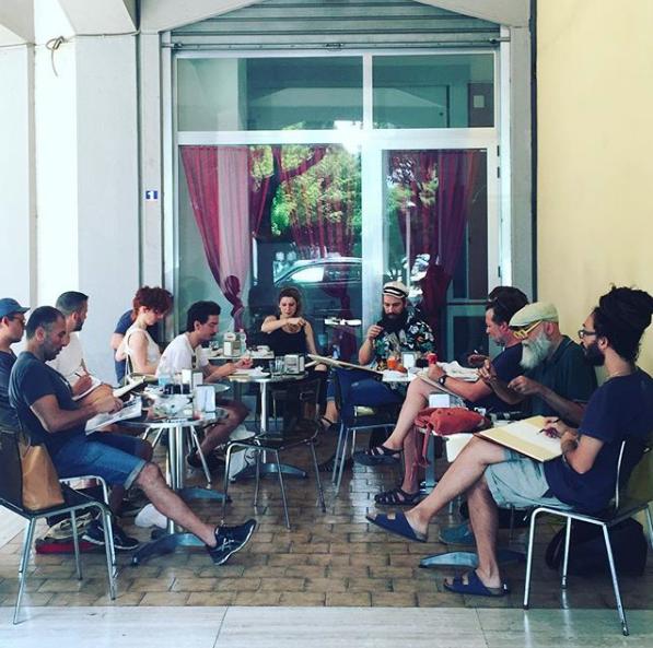 La Scuola di Santa Rosa a Lecce, foto di Luigi Presicce