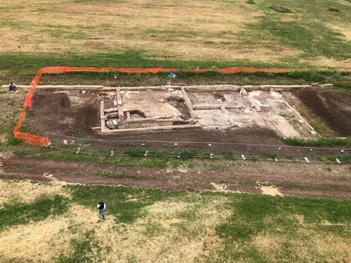 8 - Scavi archeologici alla Villa dei Quintili, 2018. Ph. Cuoghi Corsello 2018